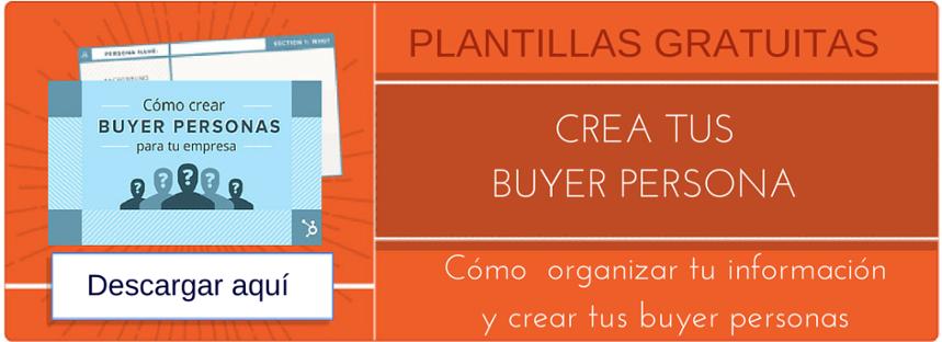 Plantillas para crear buyer personas hubspot inbound mindset