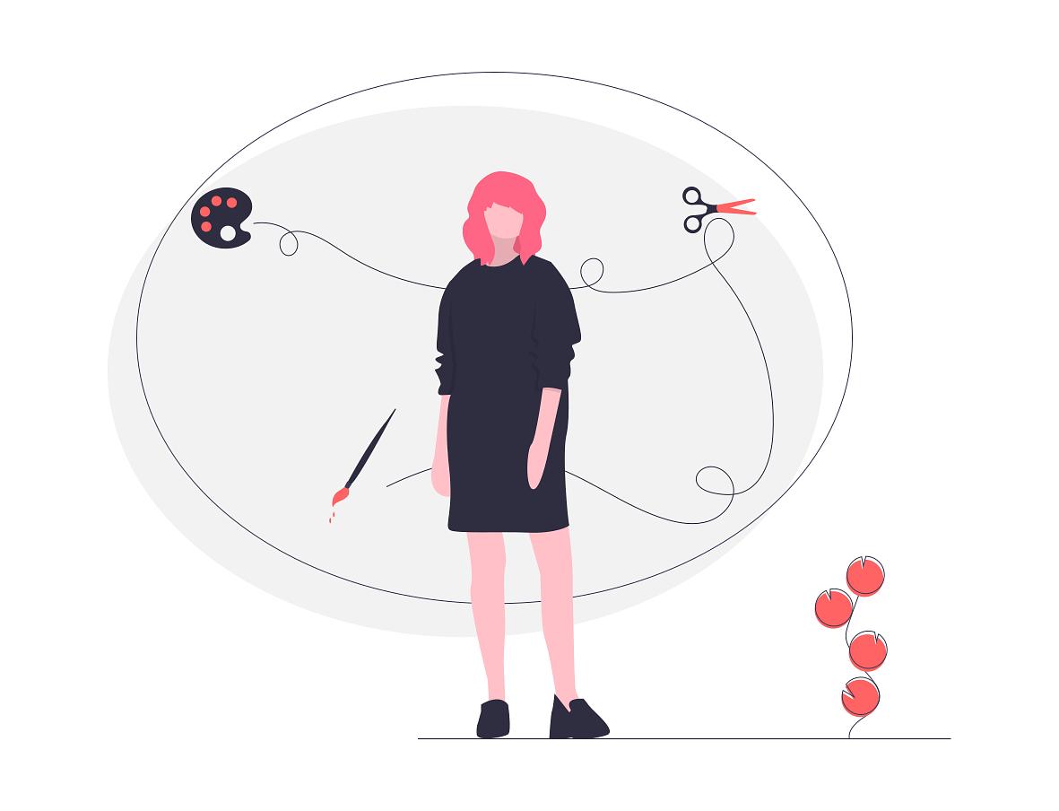 disonancia cognitiva creatividad inbound mindset mujer